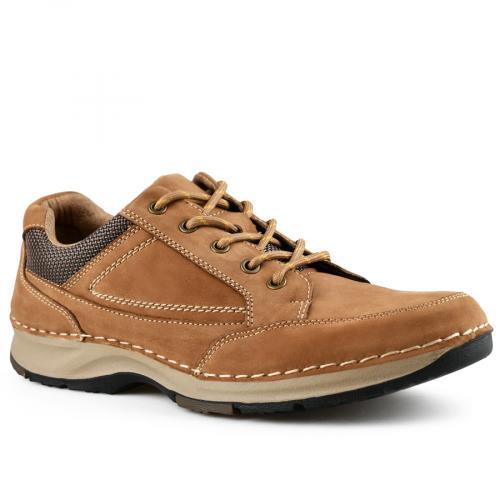 мъжки ежедневни обувки кафяви 0142118
