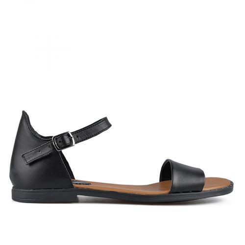 дамски ежедневни сандали черни 0138536