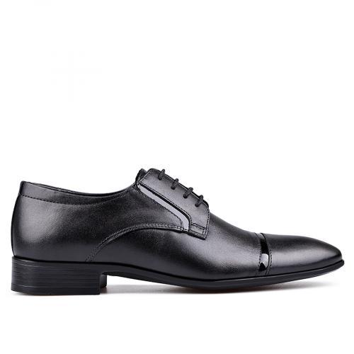 мъжки елегантни обувки черни 0132426