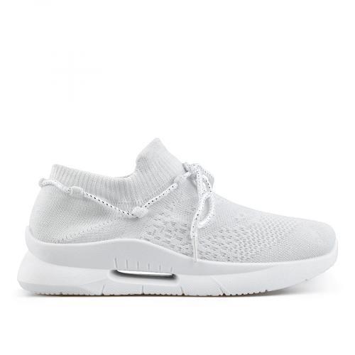дамски ежедневни обувки бели 0136823