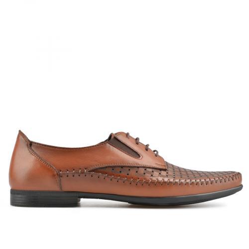 мъжки ежедневни обувки кафяви 0138272