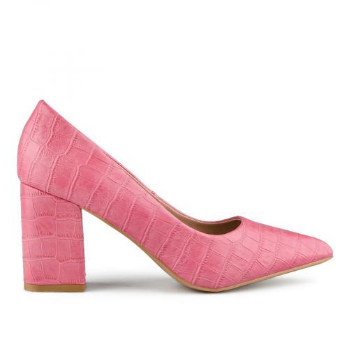 дамски елегантни обувки розови 0141056