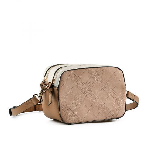 дамска ежедневна чанта бежова 0145135