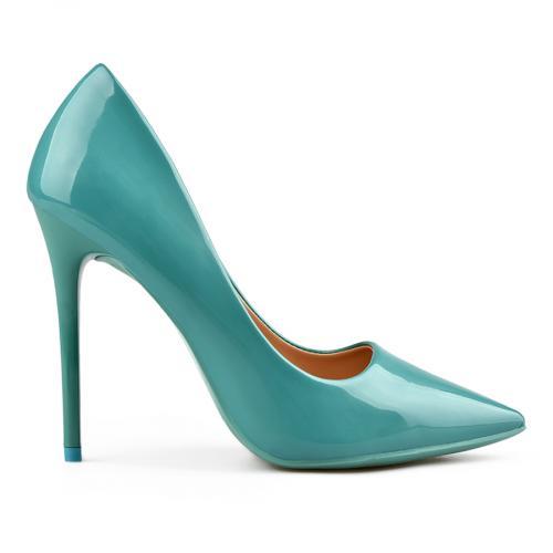 дамски елегантни обувки сини 0137698