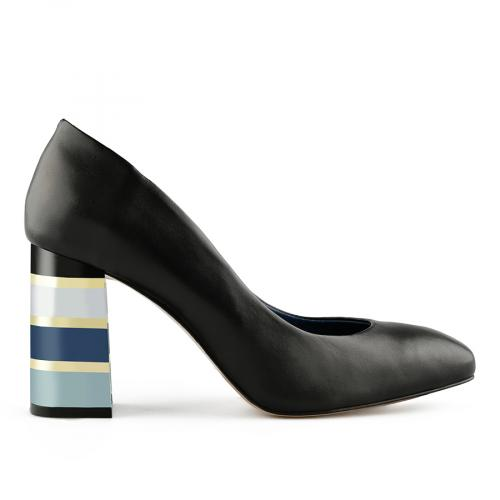 дамски елегантни обувки черни 0141128