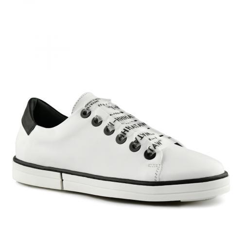 дамски ежедневни обувки бели 0141168