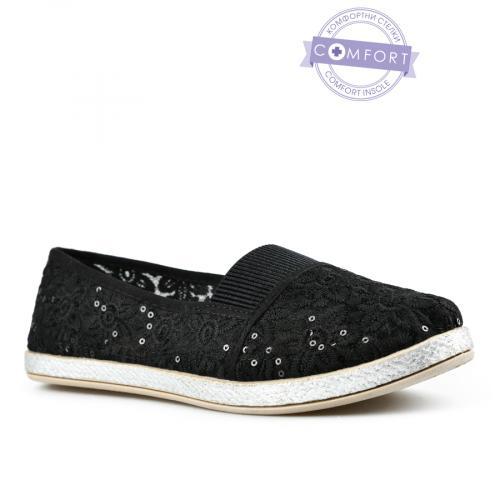 дамски ежедневни обувки черни 0142588
