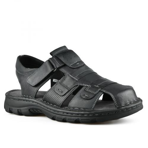 мъжки ежедневни сандали черни 0143317