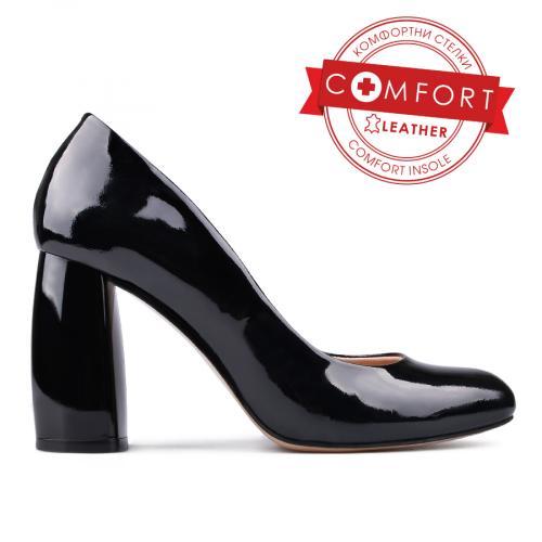 дамски елегантни обувки черни 0131102