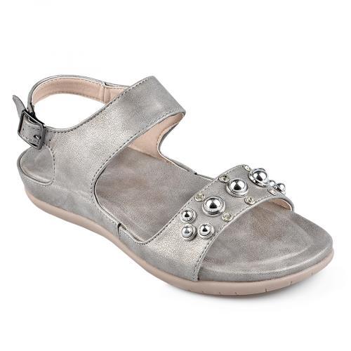 дамски ежедневни сандали сиви 0137316