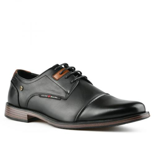 мъжки ежедневни обувки черни 0143799