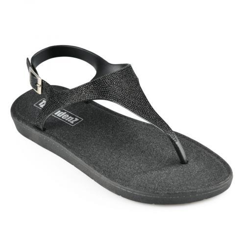 дамски ежедневни сандали черни 0140920