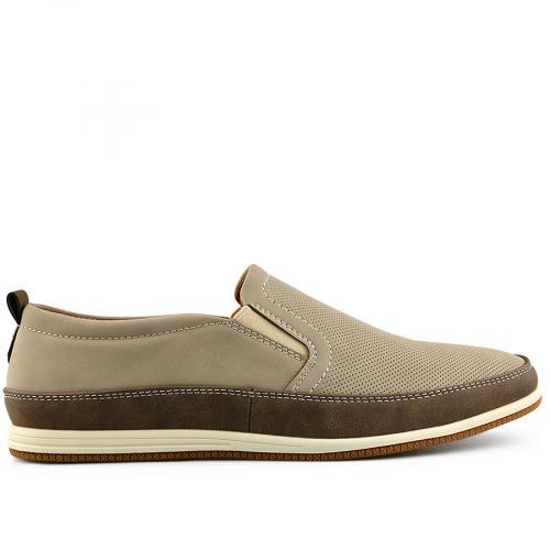 мъжки ежедневни обувки бежов 0140550