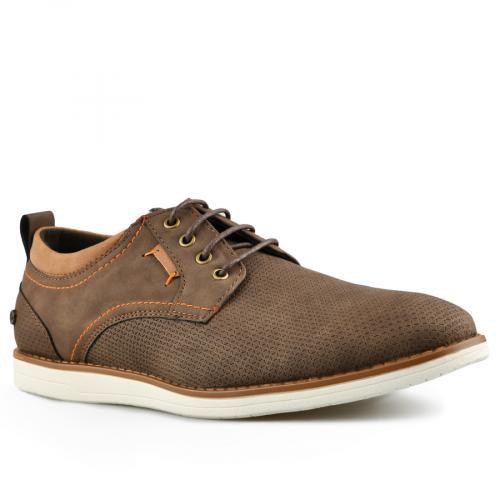 мъжки ежедневни обувки кафяви 0143796