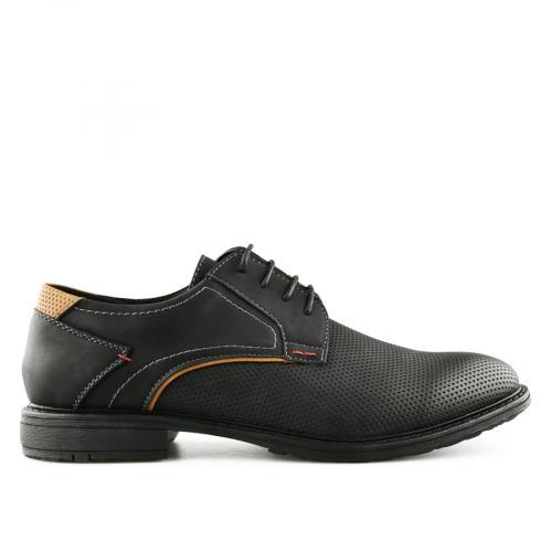 мъжки ежедневни обувки черни 0140533