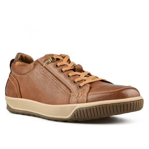 мъжки ежедневни обувки кафяви 0144907