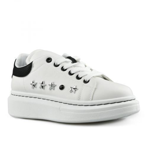 дамски ежедневни обувки бели 0142759