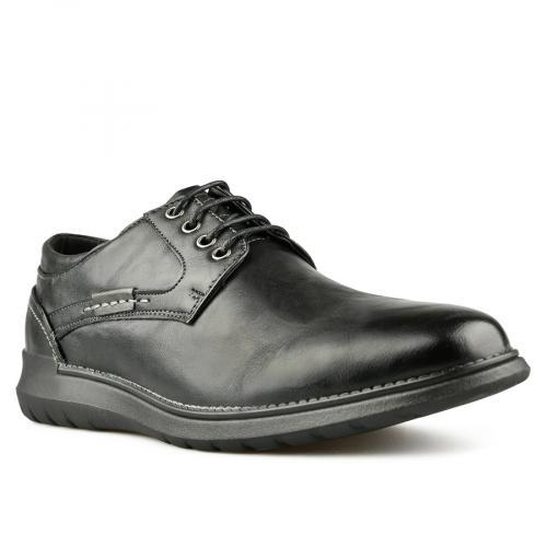 мъжки ежедневни обувки черни 0144934