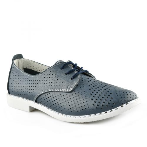 дамски ежедневни обувки сини 0139735