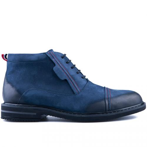 мъжки ежедневни боти сини 0126087