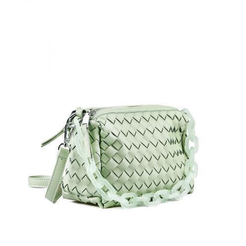 дамска ежедневна чанта зелена 0143625