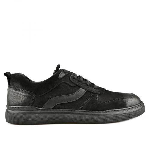 мъжки ежедневни обувки черни 0145317