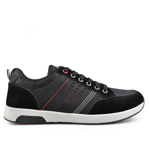 мъжки ежедневни обувки черни 0136941