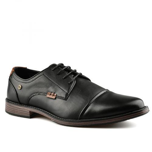 мъжки ежедневни обувки черни 0141944