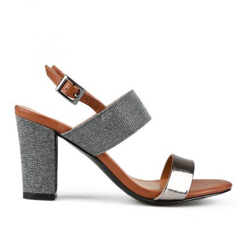 дамски елегантни сандали сребристи 0144380