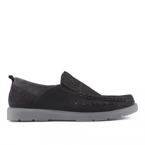 мъжки ежедневни обувки черни 0127522