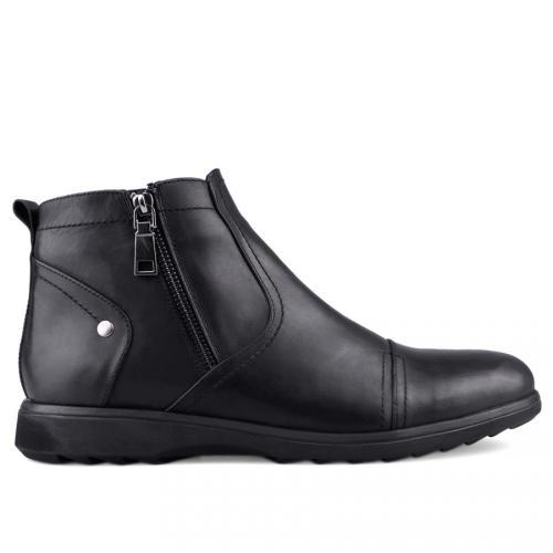 мъжки елегантни боти черни 0125883