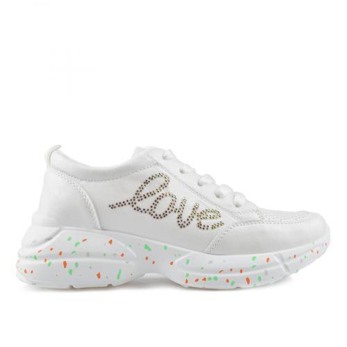 дамски ежедневни обувки бели 0136863