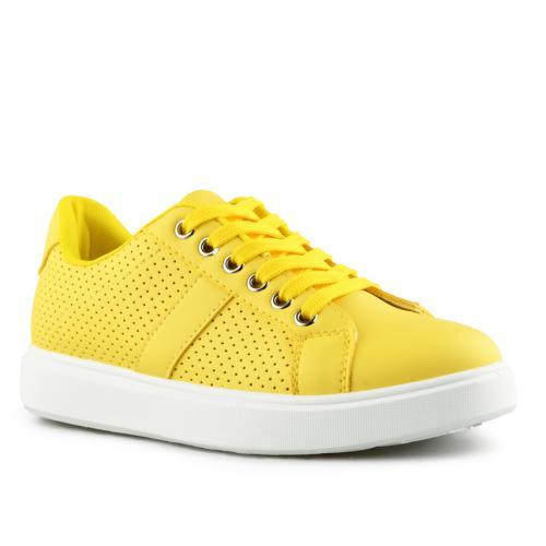 дамски ежедневни обувки жълти 0141958