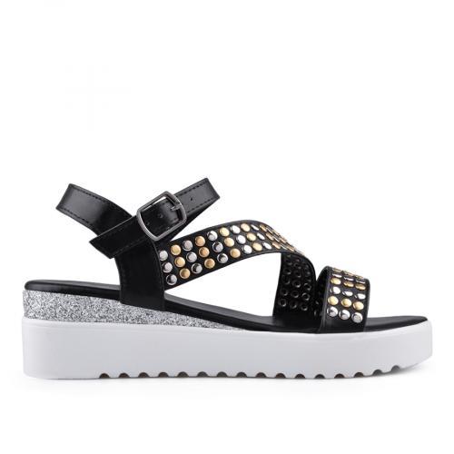 дамски ежедневни сандали черни 0134531
