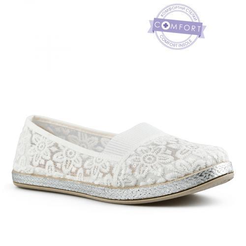 дамски ежедневни обувки бели 0142589