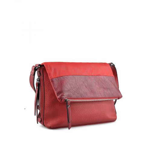 дамска ежедневна чанта червена 0139226