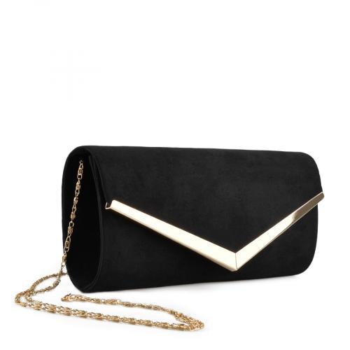дамска  елегантна чанта черна 0136762
