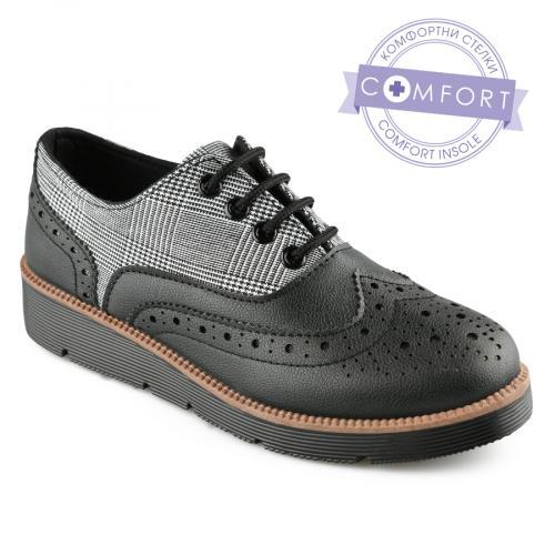 дамски ежедневни обувки черни 0141538