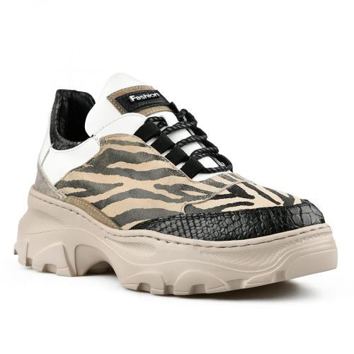 дамски ежедневни обувки бежови 0141162