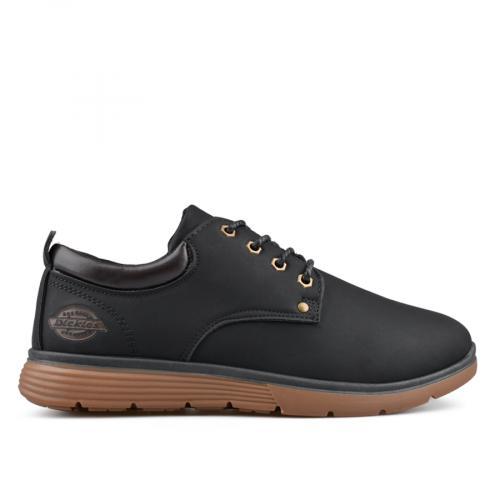мъжки ежедневни обувки черни 0135485