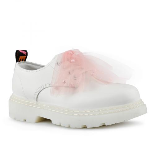 дамски ежедневни обувки бели 0142751