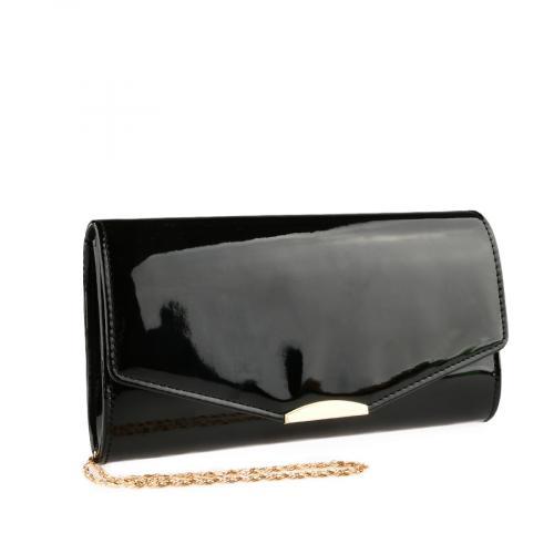 дамска елегантна чанта черна 0140901