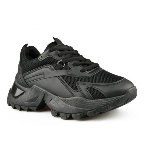 дамски ежедневни обувки черни 0141518