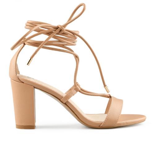 дамски елегантни сандали бежови 0140469