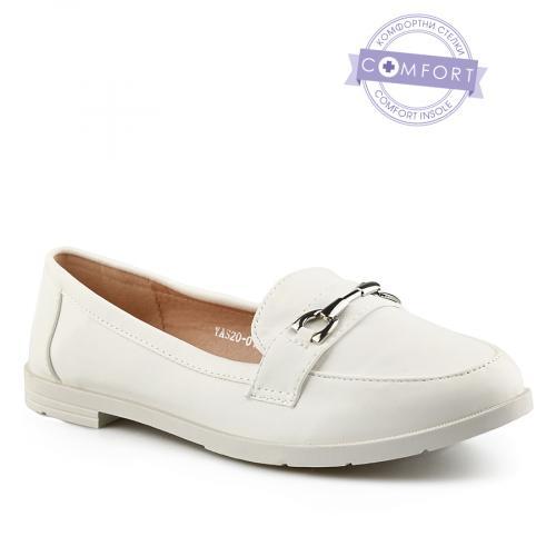 дамски ежедневни обувки бели 0140356