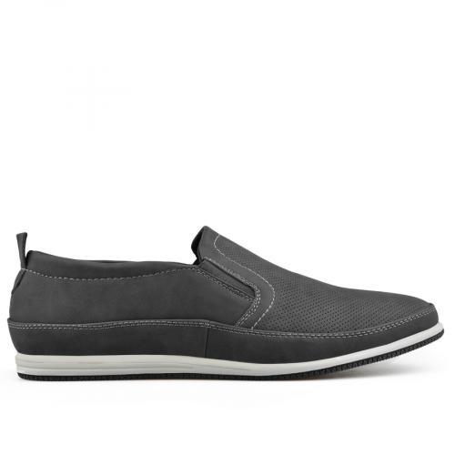 мъжки ежедневни обувки черни 0136988