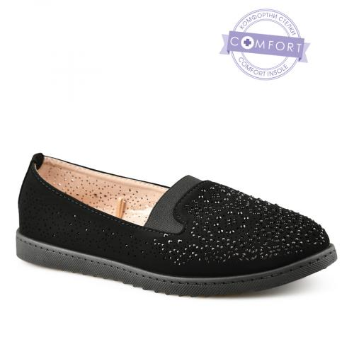 дамски ежедневни обувки черни 0140375