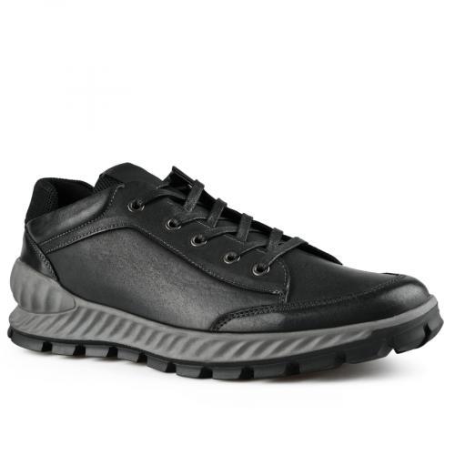 мъжки ежедневни обувки черни 0141924