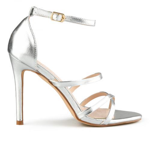 дамски елегантни сандали сребристи 0140061