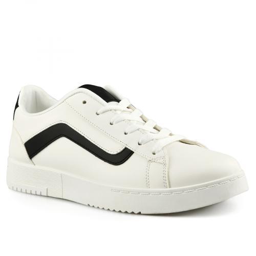 мъжки ежедневни обувки бели 0142042